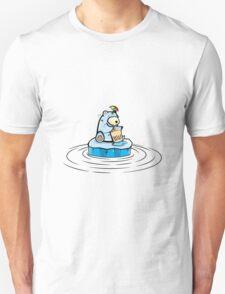 Summer Polar Bear : Trendy Bubble Tea T-Shirt