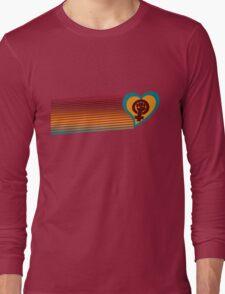 Retro feminist symbol  Long Sleeve T-Shirt