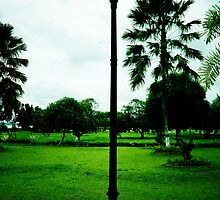 lamp ornament of legendary Kartanegara Bridge of Kutai Kartanegara East Borneo - collapsed 2010 by PutroGraph