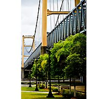 Legendary Tenggarong Kartanegara Bridge of Kutai Kartanegara East Borneo Photographic Print
