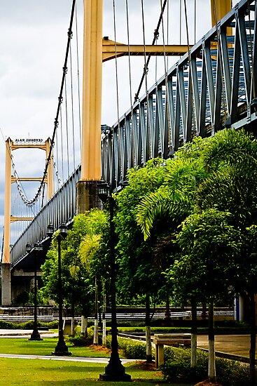 Legendary Tenggarong Kartanegara Bridge of Kutai Kartanegara East Borneo by PutroGraph
