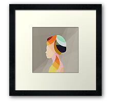 On & On Framed Print