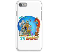 Don't Bother Me I'm Playing Video Games iPhone Case/Skin