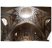Bazaar Dome, Tehran, Iran Poster