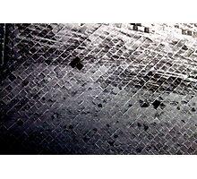 Black & White Brickyard  Photographic Print