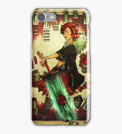 Game Transistor iPhone Case/Skin