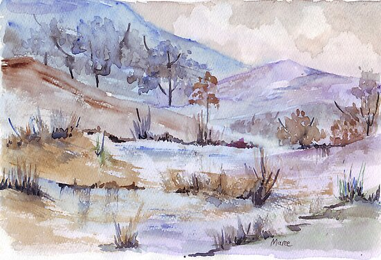 Soft is Winter by Maree  Clarkson