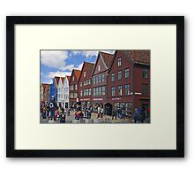 Bergen beauty Framed Print