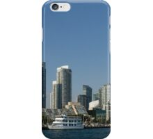 Up Close And Personal - Toronto's Skyline From The Harbour iPhone Case/Skin