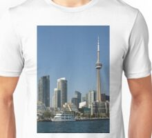 Up Close And Personal - Toronto's Skyline From The Harbour Unisex T-Shirt