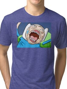 Adventure Time - Fin Tri-blend T-Shirt