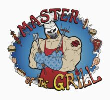 Master Of The Grill Kids Tee