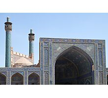 Emam Mosque from Naqsh-e Jahan Square, Esfahan, Iran Photographic Print