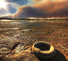 Tire Fire by Bob Larson