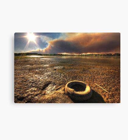 Tire Fire Canvas Print