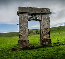 Old Entrance by Russell Charters