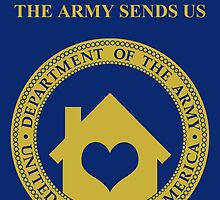 home is where the army sends us by maydaze
