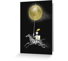 Night Rider Greeting Card