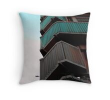 Walkways, Moore street, Sheffield Throw Pillow