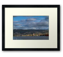 Hobart from the Derwent River, Tasmania #2 Framed Print