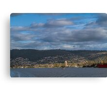 Hobart from the Derwent River, Tasmania #2 Canvas Print