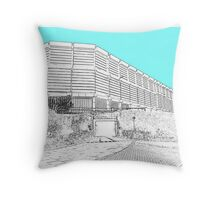 moore street Sheffield  Throw Pillow