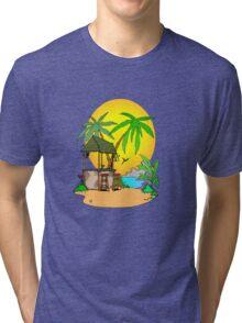Tiki Bar is Closed Tri-blend T-Shirt