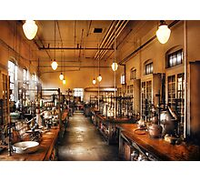 Chemist - The Chem Lab Photographic Print