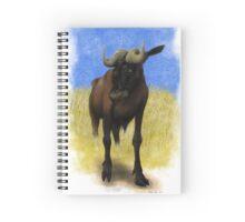 Black Wildebeest Spiral Notebook