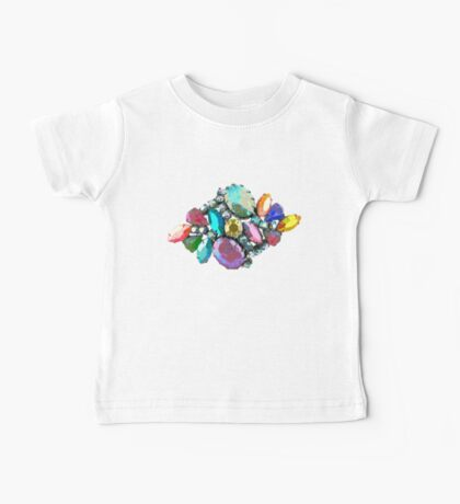 Bejewelled and Fabulous! Baby Tee