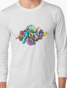 Bejewelled and Fabulous! Long Sleeve T-Shirt