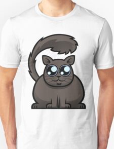 Brown Cat Unisex T-Shirt