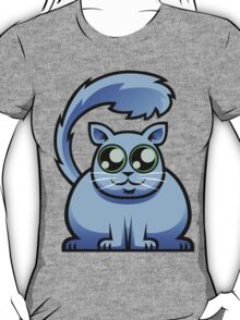 Blue Cat T-Shirt