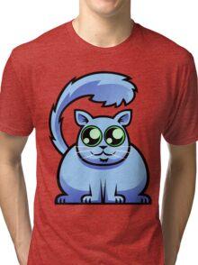 Blue Cat Tri-blend T-Shirt
