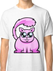 Pink Cat Classic T-Shirt