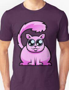 Pink Cat Unisex T-Shirt