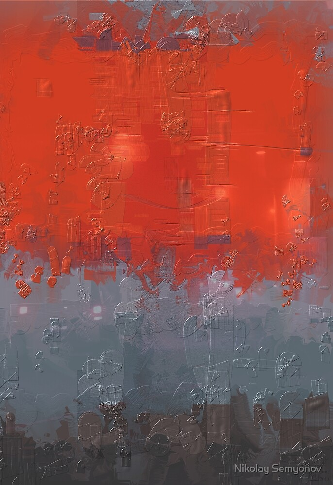 red compo 06013 by Nikolay Semyonov