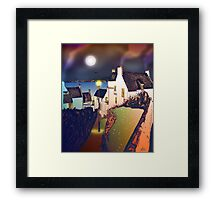 Hie Gait, the Town of Dysart, Scotland [colour version] Framed Print