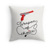 Weapon of Choice (2014 Revamped Version) Throw Pillow