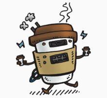 Latte Bot One Piece - Short Sleeve