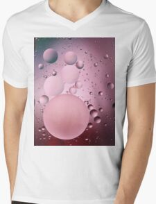 BUBBLE 3 Mens V-Neck T-Shirt