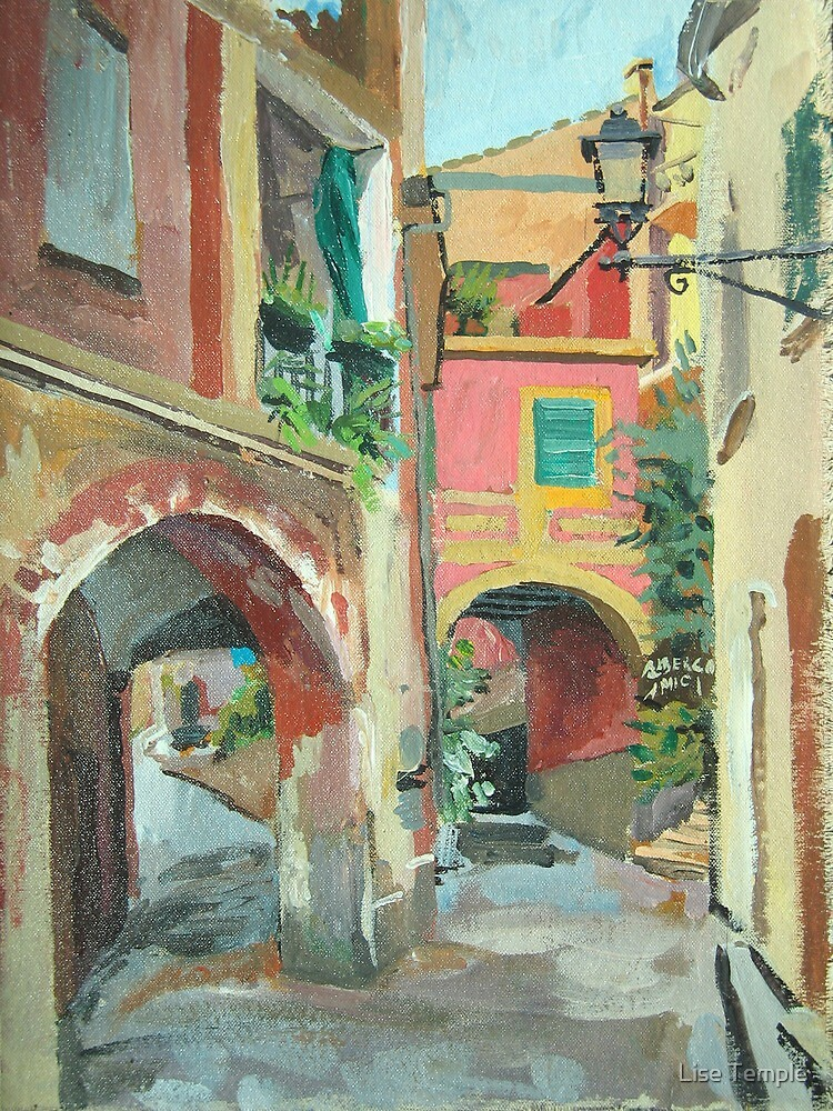 Monterosso Albergo by Lise Temple