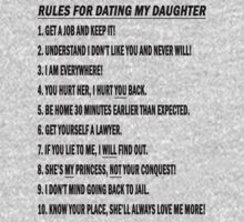 Rules For Dating My Daughter by Marjuned