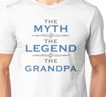 Myth Legend Grandpa Unisex T-Shirt
