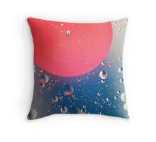 BUBBLE 4 Throw Pillow