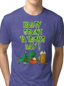Happy St. Patricks Day Tri-blend T-Shirt