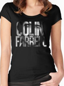 Colin Farrell Women's Fitted Scoop T-Shirt