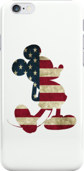 American flag Mickey Mouse by sweetsisters