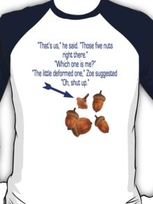 "Percy Jackson ""Nuts"" Quote T-Shirt"