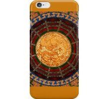 Dragons Chasing The Flaming Pearl iPhone Case/Skin